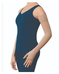 Jobst Bella Lite 15-20 mmHg Compression Combined Armsleeve and Gauntlet with Silicone Band