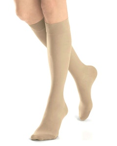 Jobst Opaque SoftFit 30-40 mmHg Closed Toe Knee High Compression Stockings with Full Calf